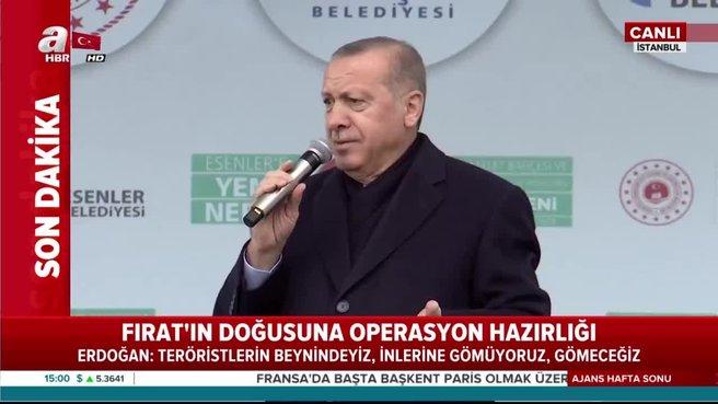 Başkan Erdoğan: Bu sefer kaçmaya fırsat bulamazsın