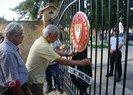 Mustafa Akıncı'ya Barış Pınarı Harekatı tepkisi! Cumhurbaşkanlığı önünde...