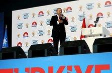 Ankara'da Arena'da Erdoğan ile 2023 heyecanı vardı