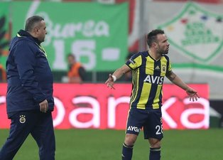 Yanal'a skandal hareket; Valbuena!