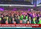 HDP kongresinde teröristbaşı Öcalana saygı duruşu! Skandala CHPli Aykut Erdoğdu da ortak oldu
