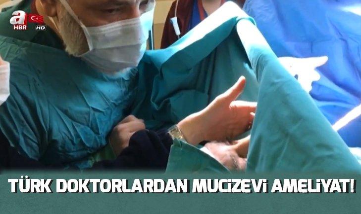 TÜRK DOKTORDAN MUCİZEVİ AMELİYAT!
