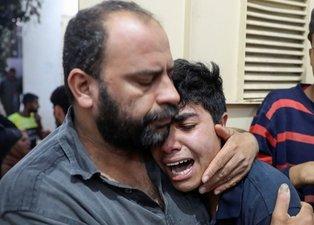 Dünya izliyor: Resmen insanlık suçu işleniyor! İsrail'den katliam: Çoğu çocuk 24 kişi şehit oldu