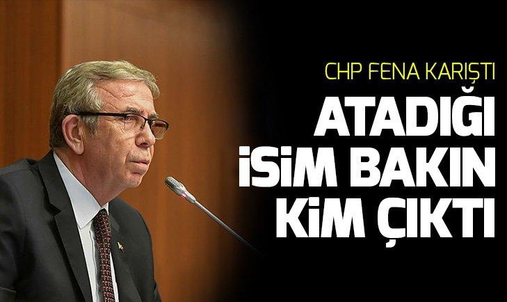 Mansur Yavaş'ın atadığı isim CHP'yi karıştırdı