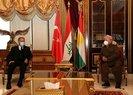 Son dakika: Milli Savunma Bakanı Hulusi Akar, IKBY Başbakanı Mesrur Barzani ve KDP lideri Mesud Barzani ile görüştü