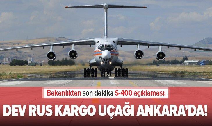 Bakanlıktan S-400 açıklaması