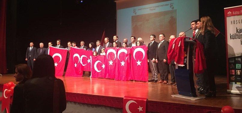 'İSTİKLAL MARŞI' TÖRENİNDE SULTAN ALPARSLAN FARKI!