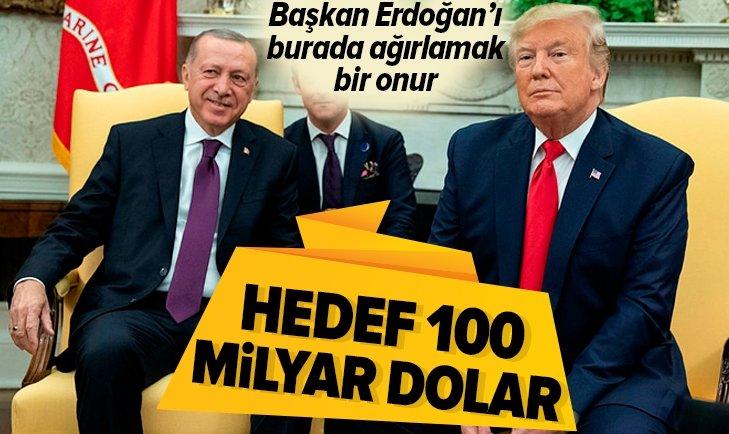 Dünyanın gözü Başkan Erdoğan ile Donald Trump görüşmesinde