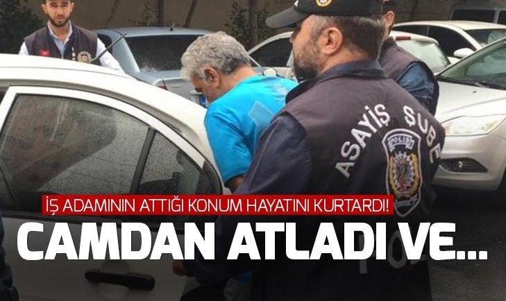 İstanbul'da kaçırılan iş adamını attığı konum kurtardı