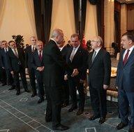 Başkan Erdoğan Büyükşehir Belediye Başkanlarını ağırladı!