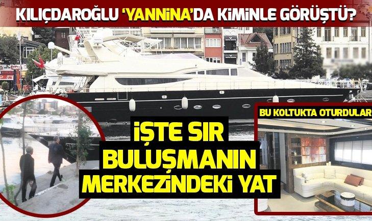 Kemal Kılıçdaroğlu Yanninada kiminle görüştü?