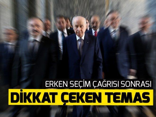 MHP lideri Bahçeli, Adalet Bakanı ile görüştü