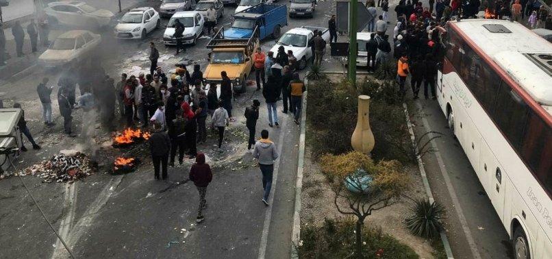 İRAN'DA SULAR DURULMUYOR! GÖSTERİCİLERE ÇOK SERT UYARI