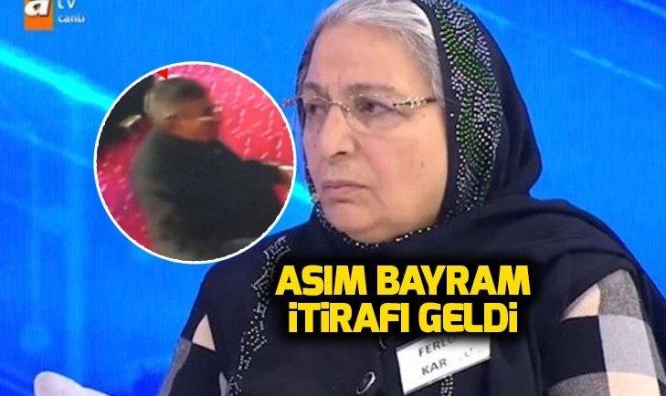 CANLI YAYINDA ASIM BAYRAM İTİRAFI