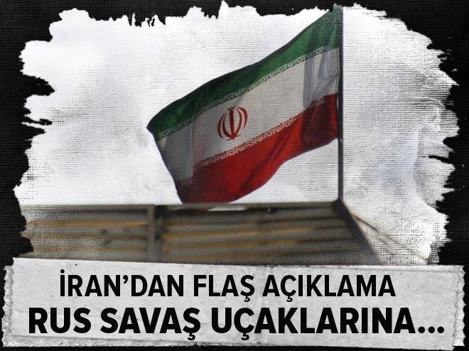 İRAN: RUS SAVAŞ UÇAKLARINA...