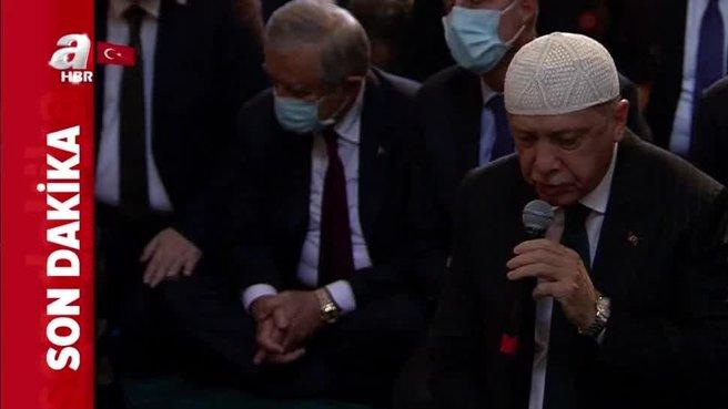 Başkan Erdoğan Ayasofya Camii'nde Kur'an-ı Kerim okudu - AHaber ...