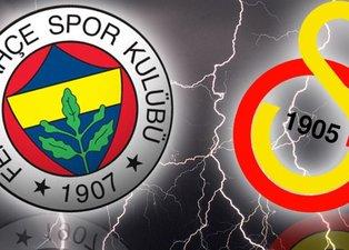İşte Galatasaray - Fenerbahçe derbisinin 11'leri!