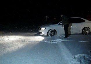 Kars'ta kar sürprizi!