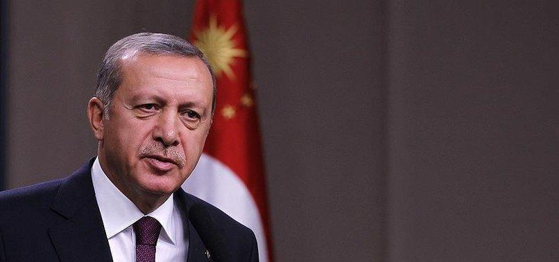 CUMHURBAŞKANI ERDOĞAN'DAN 'İSTİKLAL MARŞI' MESAJI