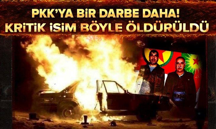 PKK'ya şok! Sözde Hakurk Eyalet sorumlusu öldürüldü