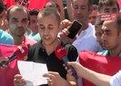 Ekrem İmamoğlunun Belturdan çıkardığı işçilerden İBB önünde basın açıklaması |Video