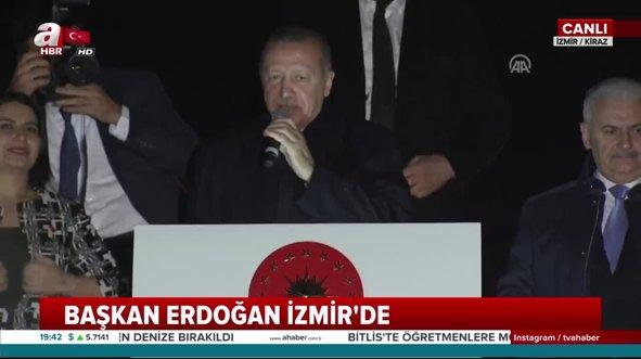 Başkan Erdoğan: YPG'ye verilen 33 bin TIR silahı bulduk