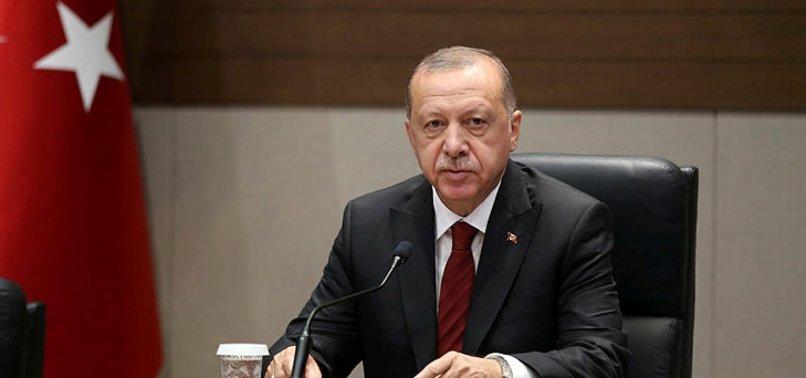 ERDOĞAN, KATAR BAŞBAKAN YARDIMCISI'NI KABUL ETTİ