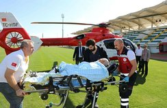 Pekmez kazanına düşen yaşlı adam hayatını kaybetti