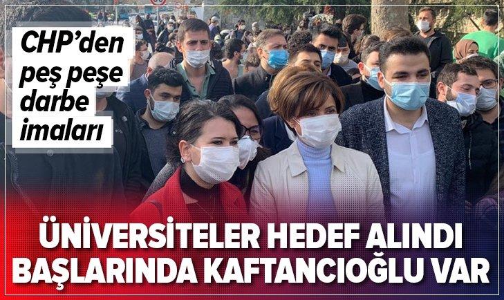 CHP üniversiteleri karıştırmaya çalışıyor