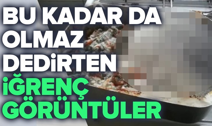 'BU KADAR DA OLMAZ' DEDİRTEN İĞRENÇ GÖRÜNTÜLER!