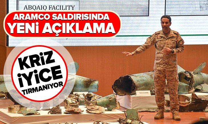 SUUDİ ARABİSTAN'DAN ARAMCO SALDIRISINDA İRAN'A SUÇLAMA!