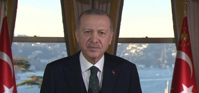 Başkan Erdoğan Uluslararası Yatırım Zirvesi'ne videolu mesaj gönderdi