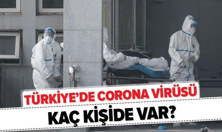 Türkiye'deki korona virüs sayıları - 22 Mart