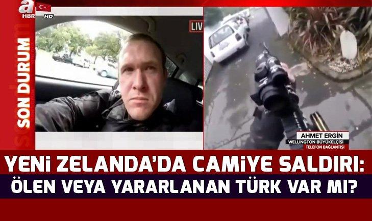 Wellington Türkiye Büyükelçisi Ahmet Ergin'den Yeni Zelanda camiye saldırı hakkında açıklama