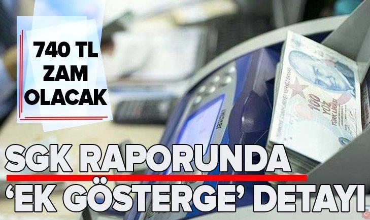 SGK RAPORUNDA 'EK GÖSTERGE' DETAYI!