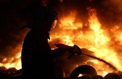 Zonguldak'ta korkutan yangın!