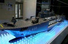 Türkiye'nin ilk uçak gemisi için geri sayım