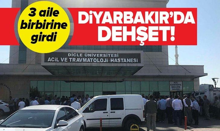 DİYARBAKIR'DA SİLAHLI KAVGA! ÖLÜ VE YARALILAR VAR...