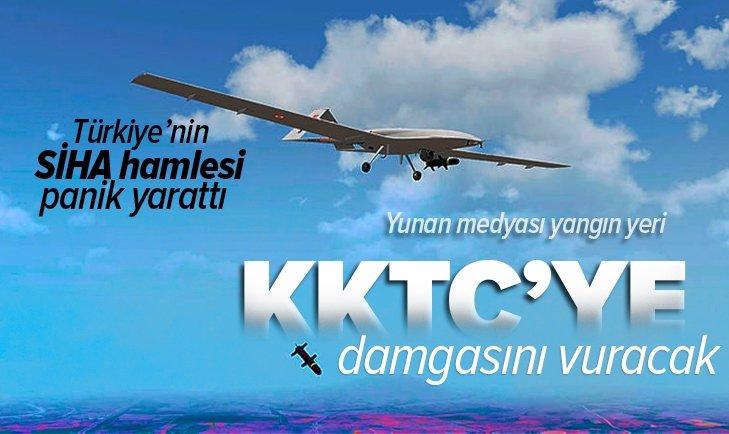 Türkiye KKTC'ye SİHA üssü kuracak! Yunan medyasında büyük panik