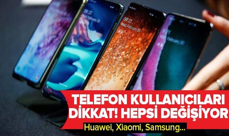 ANDROİD 10 GÜNCELLEMESİNİ ALACAK TELEFON MODELLERİNİN TAM LİSTESİ