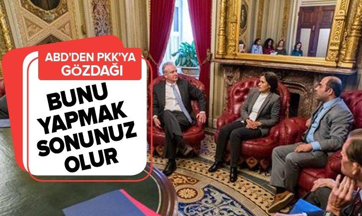 ABD'DEN PKK'YA GÖZDAĞI: BUNU YAPMAK SONUNUZ OLUR