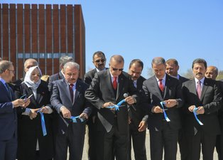 Başkan Erdoğan Troya Müzesi'nin açılışını yaptı!