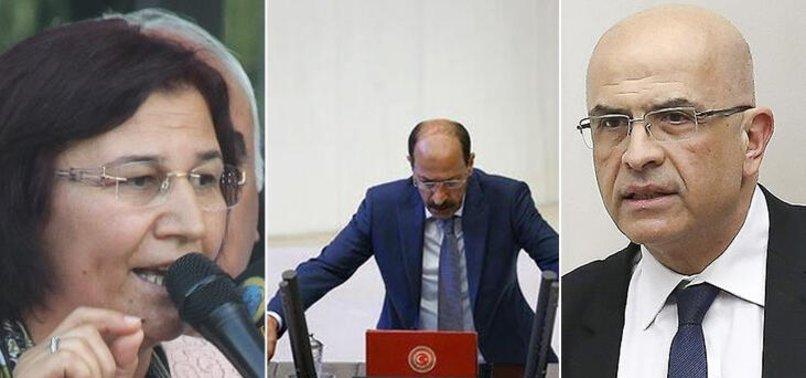 CHP VE HDP'DEN 3 İSMİN VEKİLLİĞİ DÜŞTÜ!