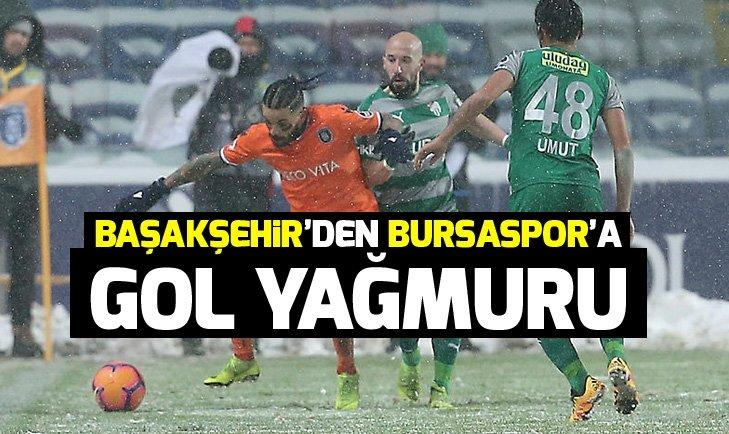 BAŞAKŞEHİR, BURSASPOR'U 3-0 YENDİ