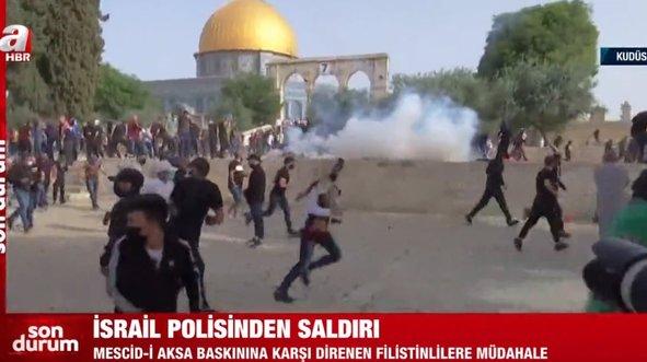 Mescid-i Aksa'da İsrail saldırısı