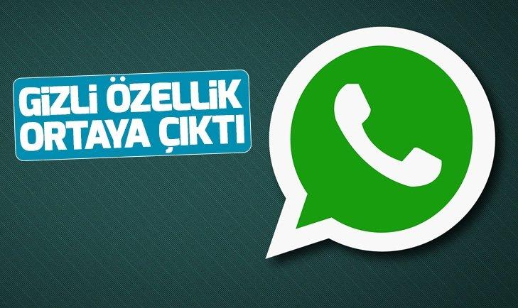 Whatsapp yeni özelliğiyle hayran bıraktı!