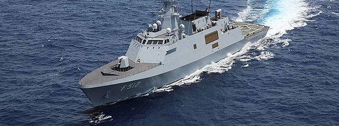 Milli gemiler için geliştirilmiş milli sonar sistemi