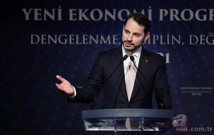 BAKAN BERAT ALBAYRAK YENİ EKONOMİ PROGRAMI'NI (YEP) AÇIKLADI! İŞTE YEP 2019