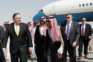Pompeo 'Kaşıkçı' olayı için Suudi Arabistan'da