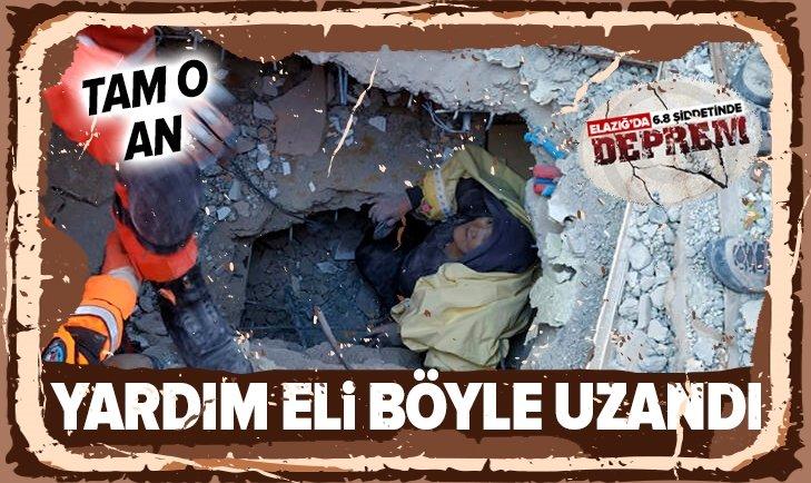ELAZIĞ'DA YARDIM ELİ BÖYLE UZANDI!